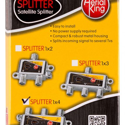 SPLITTER 4 WAY (5-2150MHZ) - 1 X DC